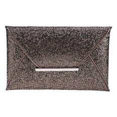 New Fashion Women Sequins Elegant Bag Envelope Bag Clutch Evening Handbag (EXPORT)