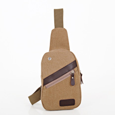 New Male Chest Bag Korean Men Diagonal Canvas Bag Man Bag Multifunction