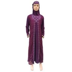 New Muslim Children's Ethnic Style Children's Clothing Long-sleeved Dress 36 - intl