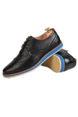 New Style Men's Fashion Breathable Formal Casual Shoes (Black) (Intl)