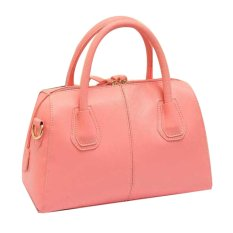 New Style Women's Sweet Zipper Tote Bags Cross-body Bags (Pink)