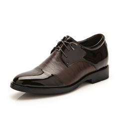 New Summer Men's Business Casual Leather Shoes (Brown) - Intl