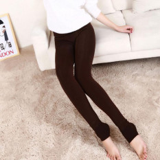 New Women's Solid Winter Thick Warm Fleece Lined Thermal Stretchy Leggings Pants Autoleader - Intl