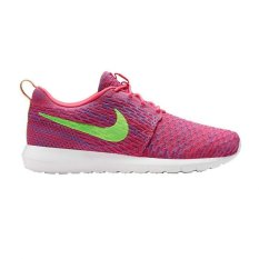 Nike Flyknit Rosherun-Pink Flash / Flash Lime / Club Pink