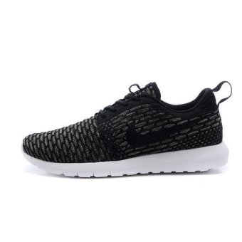 Nike Womens Rosherun Flyknit Running Trainers Sneakers Shoes (Gray / Black) - Intl