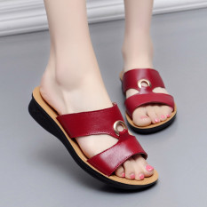 TOKO49 - Kaos Kaki Anak Balita Motif. Source · Non-slip lembut bawah wanita hamil ibu sandal sandal kulit dan sandal (Anggur merah