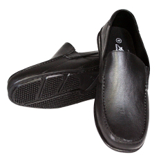 OFASHION Sepatu Pantofel Pria RE-AB-350 - Hitam - 39
