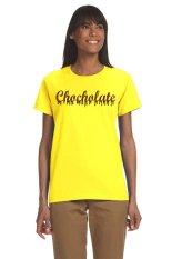 Ogita Tee - Kaos Wanita - Tumblr Tee - Kaos Tumblr - Chocolate - Kuning