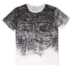 OH Fashion Men's O-neck Short Sleeve Cotton T-shirt Shirt Short Sleeve Casual XL
