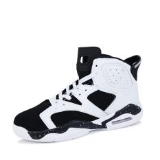 Olahraga Fashion pria sepatu basket (hitam & putih)