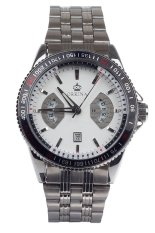 Orkina P0028 Men's Stainless Steel Band Watch Silver