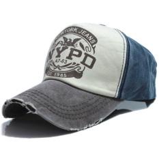Ormano Topi Baseball Snapback Hip Hop NYPD Cap - Biru