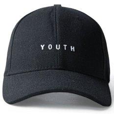 Ormano Topi Baseball Snapback Youth Cap - Hitam