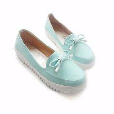 Own Works Sepatu Sneakers Slip On Wanita PKR01 - Toska