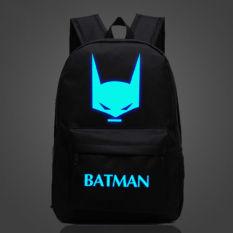 Panas Penjualan 45.72 Cm Hitam Batman Ransel Untuk Cowok Cewek Anak Sekolah Tas Ransel Tas Sekolah Anak Ransel Hadiah Terbaik