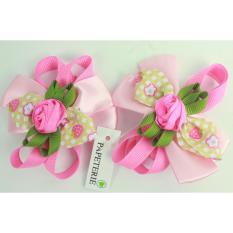 Papeterie - Sepasang Jepit Rambut Lucu JP 002 - Pink