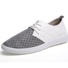 PATHFINDER Men's Summer Fashion Mesh Sneakers (Grey)