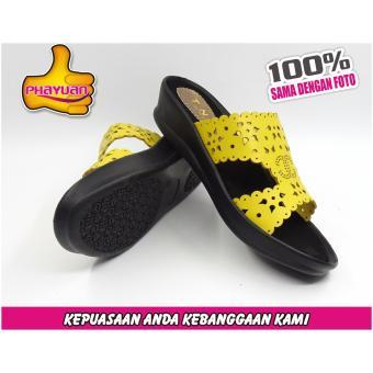 PHAYUAN Sandal Wanita J7 Kuning