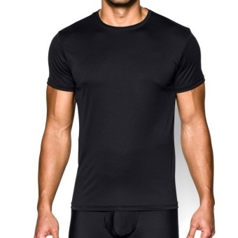Pierre Uno - Value Pack - Kaos Dalam Pria - Crew Neck Shirt - Hitam - 3 Pcs