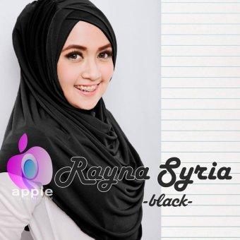 Plasa Cantik Hijab Instan Rayna Syria Premium (Black)