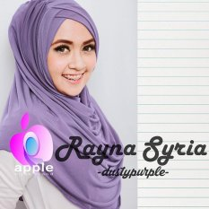 Plasa Cantik Hijab Instan Rayna Syria Premium (Dusty Purple)