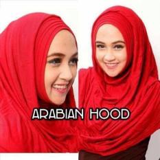 Plasa Cantik Hijab Instant Arabian Hoodie - Merah