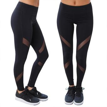 Popular Europe America Fashion Women's Speed To Sell Through Sports Running Fitness Hot Net Yarn Splicing