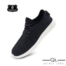 Pria Model Sepatu Olahraga Stylish & Comfortable Men Sneaker yzy V1 import -Dark grey