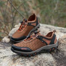 Pria Olahraga Sepatu Hiking Sepatu Gunung Climbing Sepatu Trekking Sepatu Men Outdoor Sports Shoes Hiking Shoes-intl