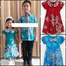 PROMO Dress Batik Baju Batik Terusan Anak Perempuan 1376 MURAH
