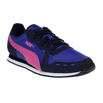 Harga Puma Sequence v2 Men s Running Shoes - Electric Blue Lemonade ... adb5784609