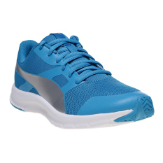 Puma Flexracer Jr Running Shoes - Blue Danube-Puma Silver