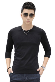 QuincyLabel Long Slevee O Neck - Black