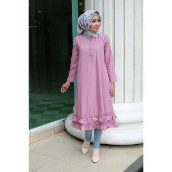 Rabia Tunik Dusty Pink By Oriana Boutique
