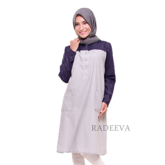 Radeeva Shafa Top - Navy