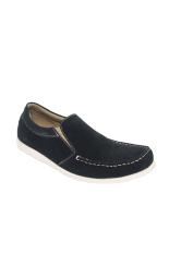 Raindoz Casual Slip Plain Black - Hitam