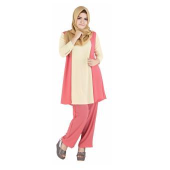 Raindoz Tunik Wanita Sakina RBV 049 - Salem