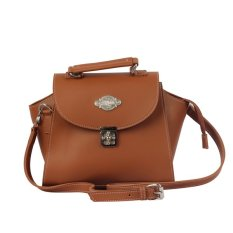 Raindoz Women Slingbag Leather - Cokelat