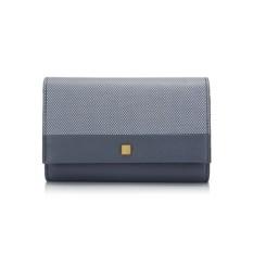 [RAVENOVA] Royal Blue Luche Medium Wallet AZ58A4033N (Single Option)