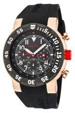 Red Line Jam Tangan Pria - Hitam - Strap Silikon - RL-50010-RG-01
