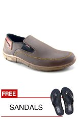 Redknot LiftOpp Brown Sepatu Pria