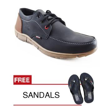 Redknot StandOut Black Sepatu Pria