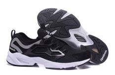 Reebok FURY ADAPT Running Shoes Light Comfortable Running Shoes Men's Cashion Shoes(black white) - intl