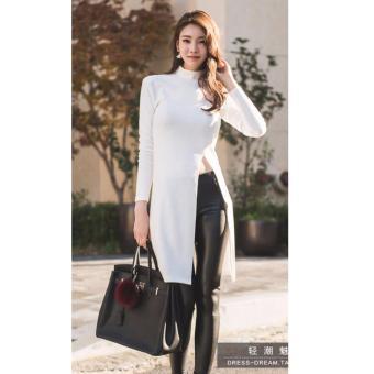 REYN SHOP Vivien Dress Putih | Baju Wanita | Dress wanita | Dress Putih