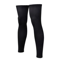 RIS 1 Pair Black Sport Football Basketball Cycling Strech Leg Knee Long Sleeve Size XXXL - intl