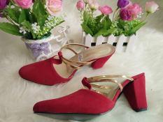 RSM Sepatu Heels Wanita S-237- Red