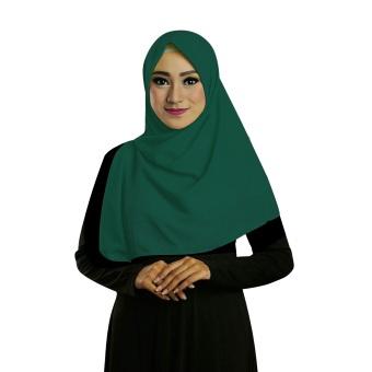 Hijab Hijau Botol 12