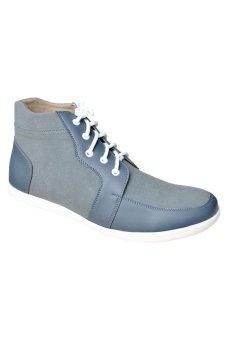 S. van Decka RK03A Sepatu Kasual Pria - Abu