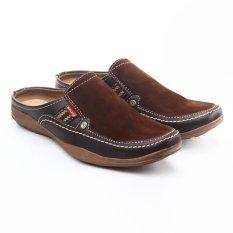 Salvo Sepatu Sandal Warna Cokelat