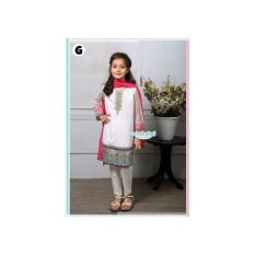 SARI INDIA WHITE - BAJU INDIA ANAK CANTIK 1-7 TAHUN
